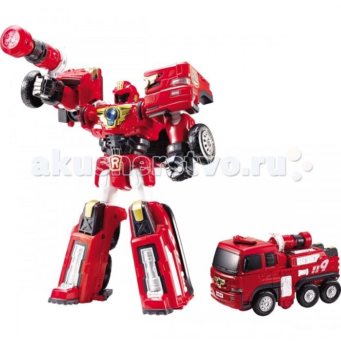 Tobot Робот-трансформер R - ПожарныйРобот-трансформер R - ПожарныйTobot Робот-трансформер R - Пожарный персонаж знаменитого мультсериала Tobot.   Это отважный и сильный робот, которым управляют братья Райан и Кори.  Ребенок с легкостью сможет трансформировать красного робота в пожарную машинку с помощью 2 ключей-токенов, прилагающихся к роботу.  Трансформацию можно проводить большое количество раз, так как детали плотно скреплены между собой. У мощного робота есть мега-пистолет, который он использует для борьбы со злом. Получившуюся пожарную машину можно катать по любой поверхности. У нее подвижные рельефные колеса и оптимальный размер, удобный для рук ребенка.  Внимание! Цветовое оформление элементов трансформера может варьироваться без возможности выбора.  Комплект: робот-трансформер, мега-пистолет, 2 ключа-токена, наклейки.  Возраст: от 4 лет<br>