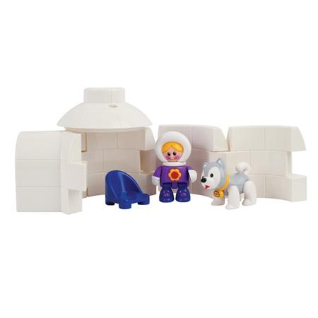 Игровые наборы Tolo Toys Набор Иглу развивающие игрушки tolo toys тюлень
