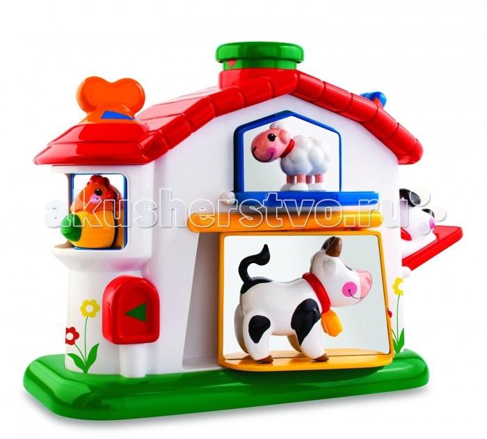 Развивающие игрушки Tolo Toys Механическая ферма игровые наборы tolo toys набор полярные сани