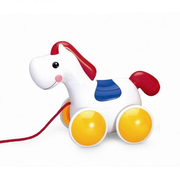 Каталки-игрушки Tolo Toys Пони на веревочке развивающие игрушки tolo toys тюлень