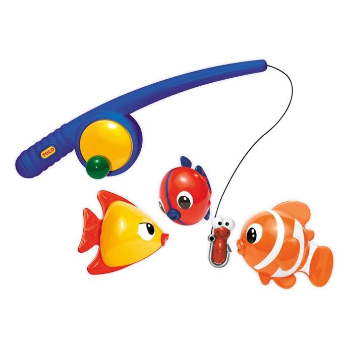 Игрушки для ванны Tolo Toys Рыбалка магнитная развивающие игрушки tolo toys морж