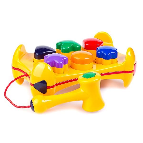 Сортеры Tolo Toys Столик с формочками развивающие игрушки tolo toys морж