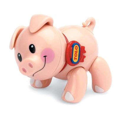 Развивающие игрушки Tolo Toys Поросенок tolo toys пещерный мальчик