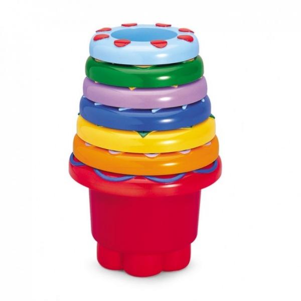 Развивающие игрушки Tolo Toys Набор стаканчиков развивающие игрушки tolo toys тюлень