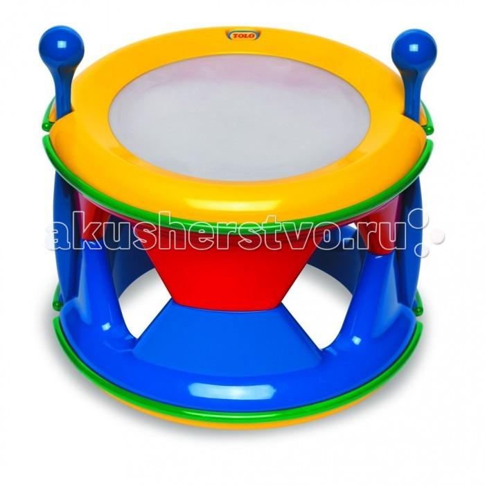 Музыкальные игрушки Tolo Toys Барабан развивающие игрушки tolo toys тюлень