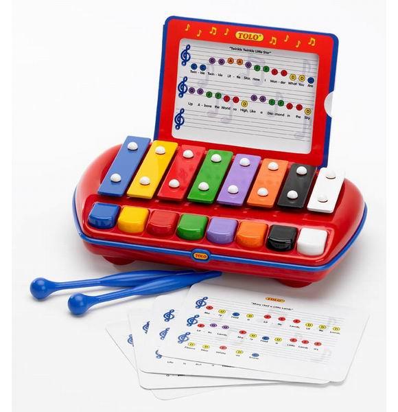 Музыкальные игрушки Tolo Toys Ксилофон игровые наборы tolo toys набор полярные сани