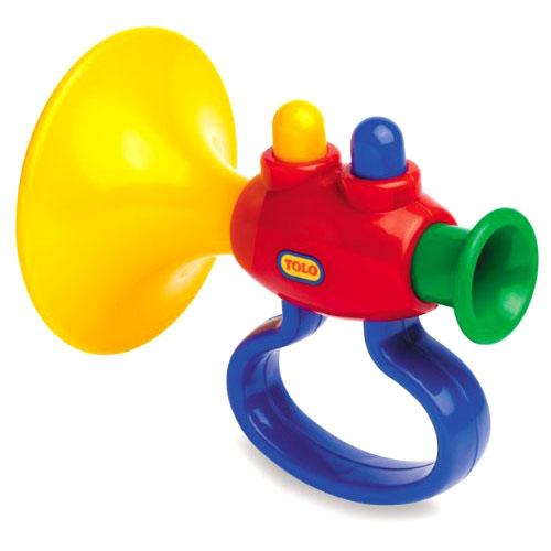 Музыкальные игрушки Tolo Toys Труба игрушки для ванны tolo toys рыбки магнитные