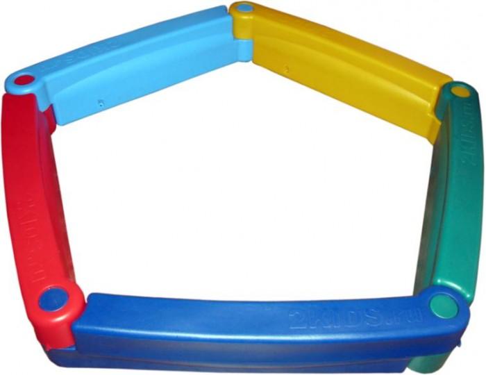 Летние товары , Песочницы 2Kids М Пластиковая песочница из 5-ти элементов арт: 285697 -  Песочницы