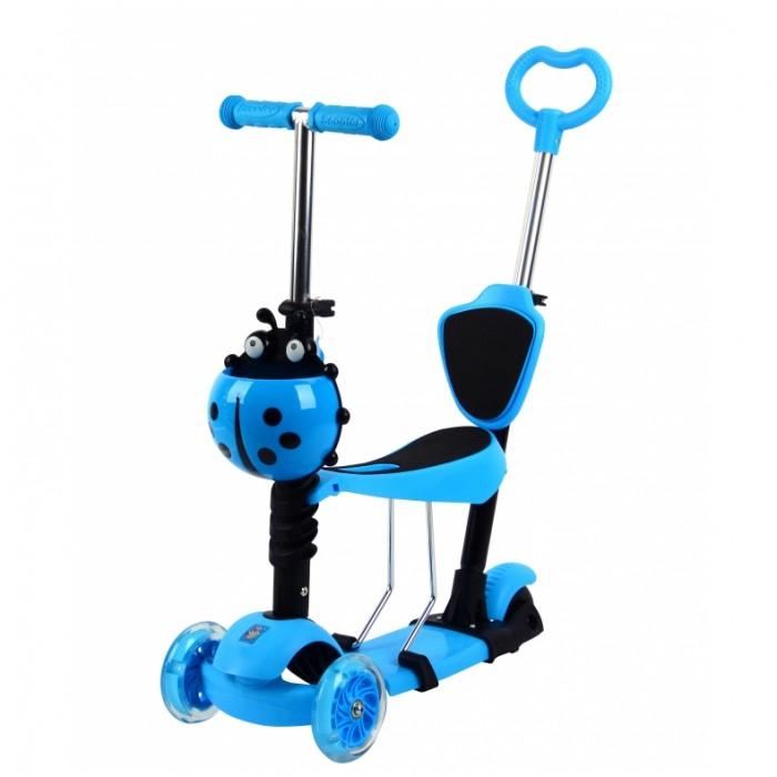 Детский транспорт , Трехколесные самокаты 1 Toy 5 в 1 арт: 285919 -  Трехколесные самокаты