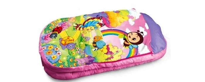 Игровой коврик Yako Спальный мешок Y8300133Спальный мешок Y8300133Yako Игровой коврик Спальный мешок, Y8300133 сможет стать отличным атрибутом множества игр и помочь ребенку в проведении такого увлекательного развлечения, как пижамная вечеринка. Более того, этот мешок сможет стать подходящим местом для детского отдыха и сна. Он обладает достаточной мягкостью и способен хорошо сохранять тепло, что будет полезно в прохладных помещениях.  Спальный мешок оформлен очень ярко и красиво. Он украшен забавными изображениями бабочек, пчел и других насекомых на фоне радужной панорамы.<br>