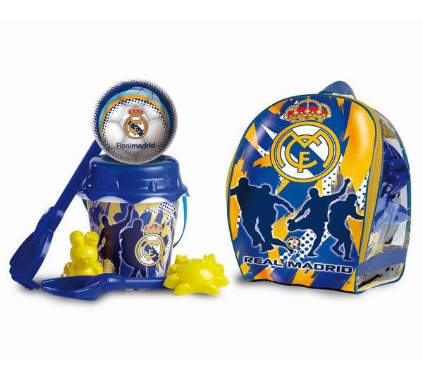 Unice Песочный набор в рюкзаке Реал Мадрид с мячом