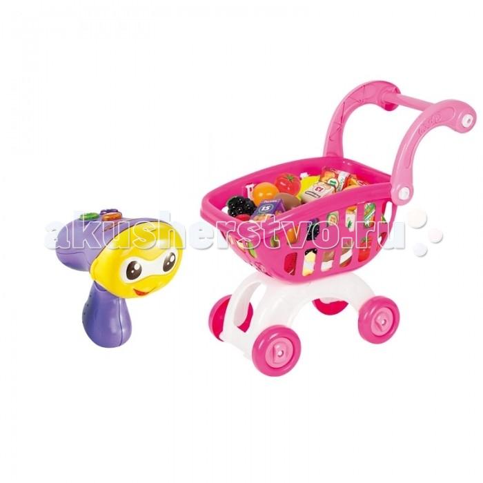 Zhorya Обучающая игрушка Умняшка-сканер с тележкой