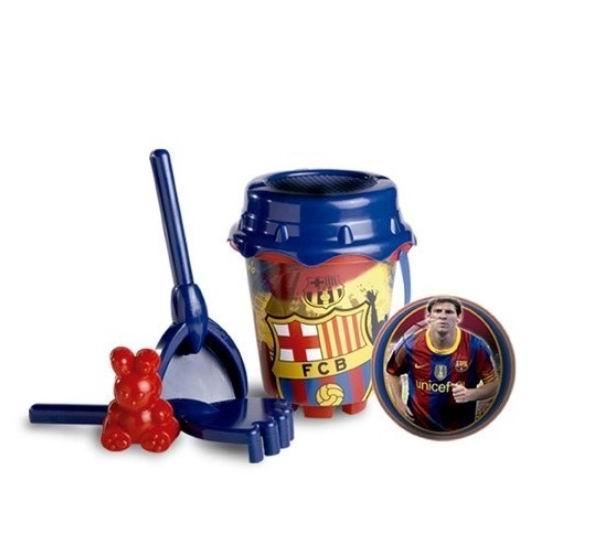 Игрушки для зимы Unice Песочный набор Барселона с лейкой