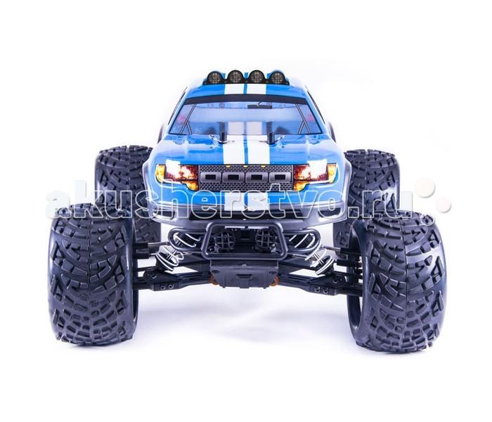 Pilotage Радиоуправляемая машина внедорожник 1:10 Monster ONE 4WD электро RTRРадиоуправляемая машина внедорожник 1:10 Monster ONE 4WD электро RTRPilotage Радиоуправляемая машина внедорожник 1:10 Monster ONE 4WD электро RTR с коллекторным электродвигателем.  Новейшая линейка внедорожников от компании Пилотаж-ONE. Модели этой серии отличаются  тщательной проработкой конструкции и улучшенными эксплуатационными характеристиками.  На всех  моделях установлена самая современная и надежная  влагозащищенная электроника. Внедорожники приводятся в движение мощным  электромотором 550-й серии, который вращает колеса модели через металлическую трансмиссию. Компактная, легкая и удобная аппаратура управления работает без помех и имеет все необходимые регулировки.  Модели серии ONE легко обслуживаемы. Все необходимые запасные части и тюнинг всегда в наличии.  В комплект входят: модель пульт LiOn  аккумулятор 7.4 В зарядное устройство для аккумулятора инструкция по эксплуатации коробка. Требуется докупить:   4 элемента питания АА для пульта.<br>
