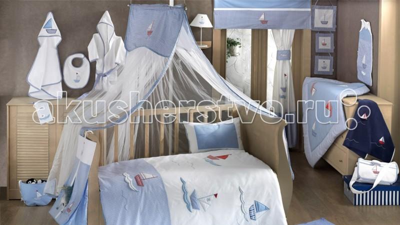 Балдахин для кроватки Kidboo Blue Marine