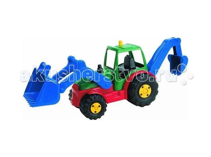 Машины G.B.Fabricantes AVC Трактор 50 см машины tomy трактор john deere monster treads с большими резиновыми колесами