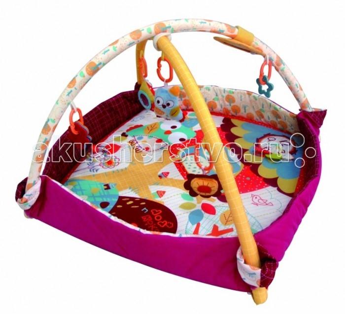 Развивающий коврик Merx игровой бассейн Додо и Кики