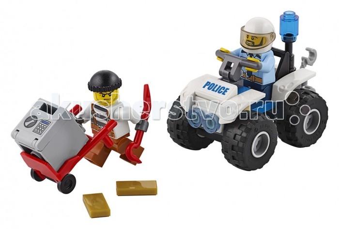 Lego Lego Полицейский квадроцикл кофр на квадроцикл в бийске