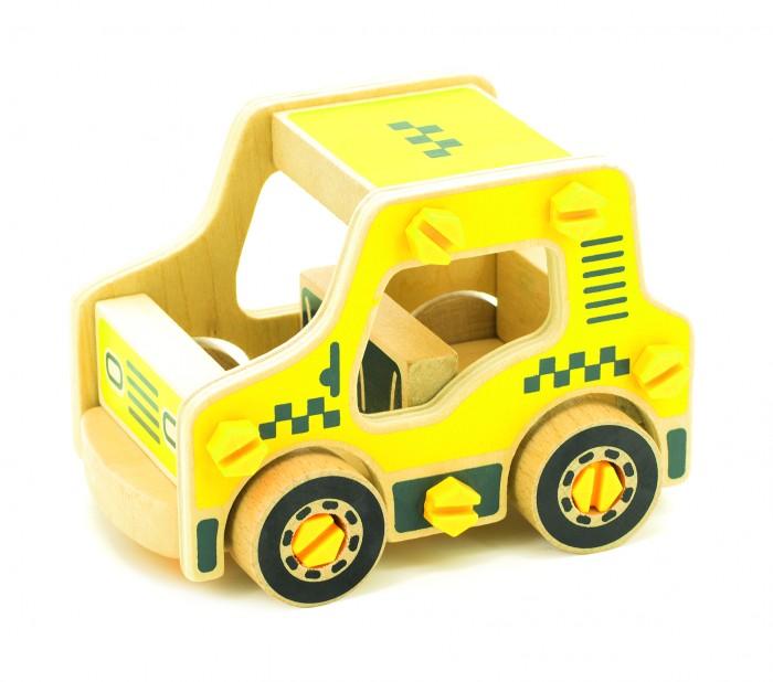 Конструкторы Мир деревянных игрушек (МДИ) Машина Такси деревянные игрушки мир деревянных игрушек мди лабиринт лев