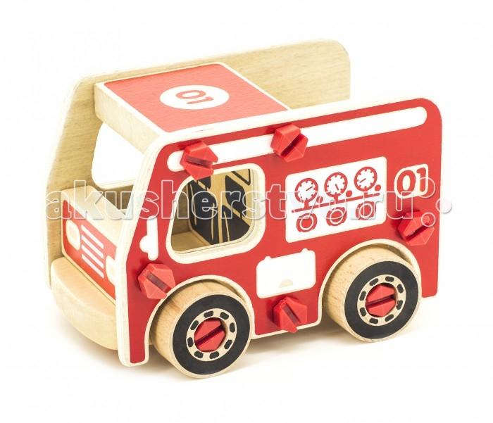 Конструкторы Мир деревянных игрушек Пожарная машина хорошо себя веду