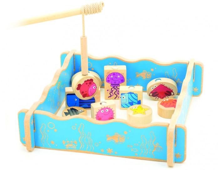 Игровые наборы Мир деревянных игрушек (МДИ) Игровой набор Магнитная рыбалка игровые наборы tomy игровой набор приключения трактора джонни и лошади на ферме