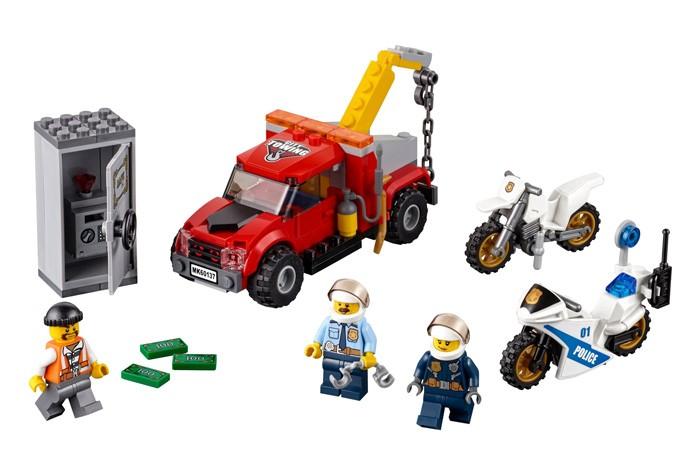 Конструктор Lego Побег на буксировщике