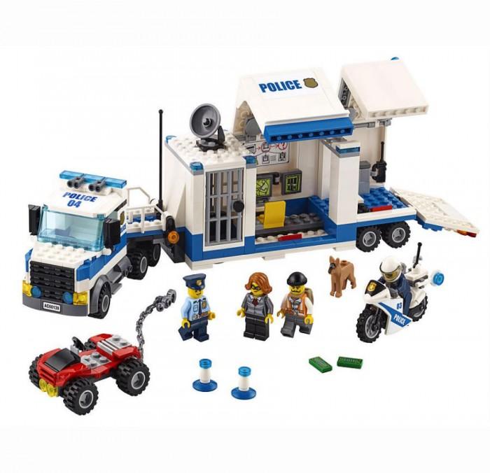 Lego Lego Мобильный командный центр lego 60139 город мобильный командный центр