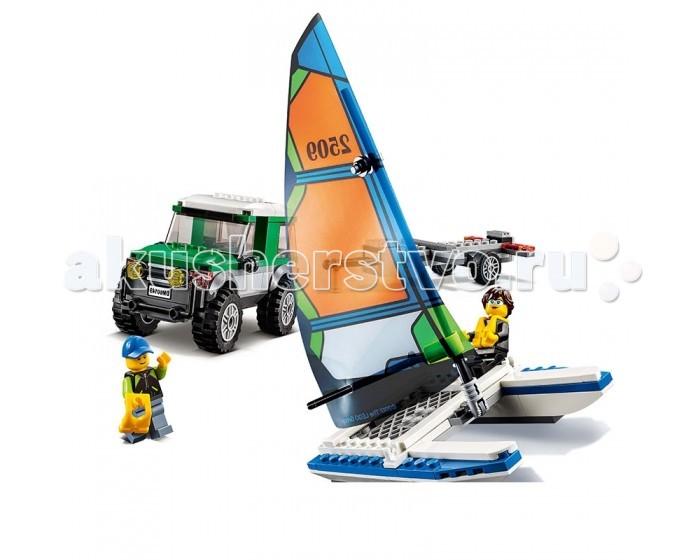 Lego Lego Внедорожник с прицепом для катамарана
