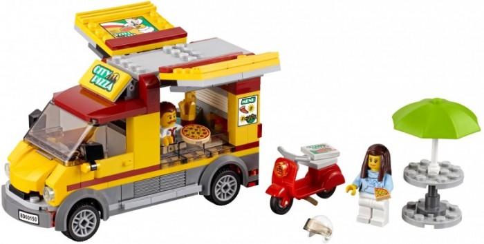 Lego Lego Фургон-пиццерия конструктор lego city фургон и дом на колёсах