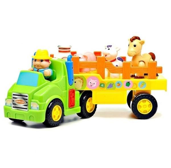 Машины Kiddieland Фермерский трактор игровые наборы tomy britains big farm фермерский прицеп со свинками