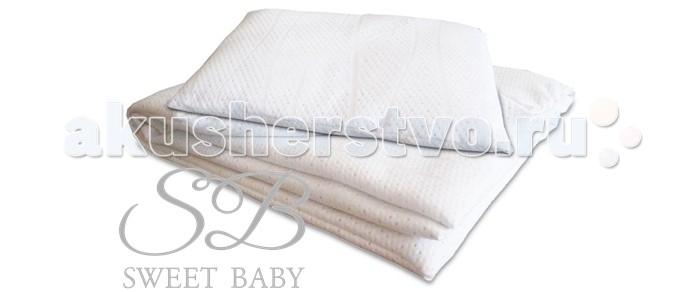 Одеяло Sweet Baby Комплект Трикотаж SB-BP07 (одеяло+подушка)Комплект Трикотаж SB-BP07 (одеяло+подушка)Одеяло Sweet Baby Комплект Трикотаж SB-BP07 (одеяло+подушка) изготовлен из качественных, натуральных материалов.   При производстве используются исключительно натуральные красители, поэтому детское постельное белье Папитто безопасно и гипоаллергенно.  Легкое, теплое и нежное одеяло согреет вашего малыша в прохладные ночи. Под таким чудесным одеяльцем ему будут сниться только сладкие, прекрасные сны.  Особенности: Ткань: трикотаж Наполнитель нетканое волокно Размер одеяла: 110х140 см Размер подушки: 40х60 см Рекомендована ручная стирка при 40&#186; С<br>