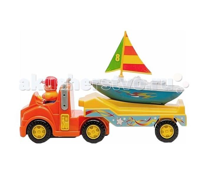 Kiddieland Трейлер для яхтыТрейлер для яхтыТрейлер для яхты Kiddieland 047928 - это яркая развивающая игрушка для малышей, которая изготовлена из высококачественных материалов и выполнена в ярких цветах.   Модель способствует формированию представления о цветах и звуках, а также развивает моторику и сенсорику детей.  Замечательный трейлер для яхты, который доставит Вашему ребенку много приятных моментов.   Станет отличным подарком по любому поводу.<br>