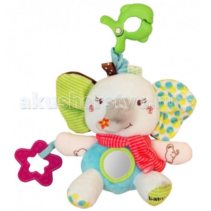 Подвесные игрушки Baby Mix Слоненок Baby подвесные игрушки мир детства мини подвеска слоненок