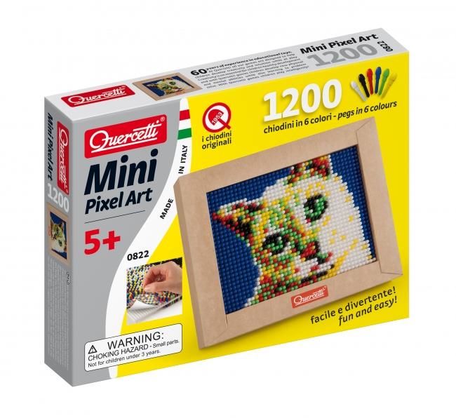 Мозаика Quercetti Пиксельная мозаика Кошечка (1200 элементов) quercetti бегущие шарики