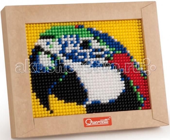 Мозаика Quercetti Пиксельная мозаика Попугай (1200 элементов) quercetti бегущие шарики
