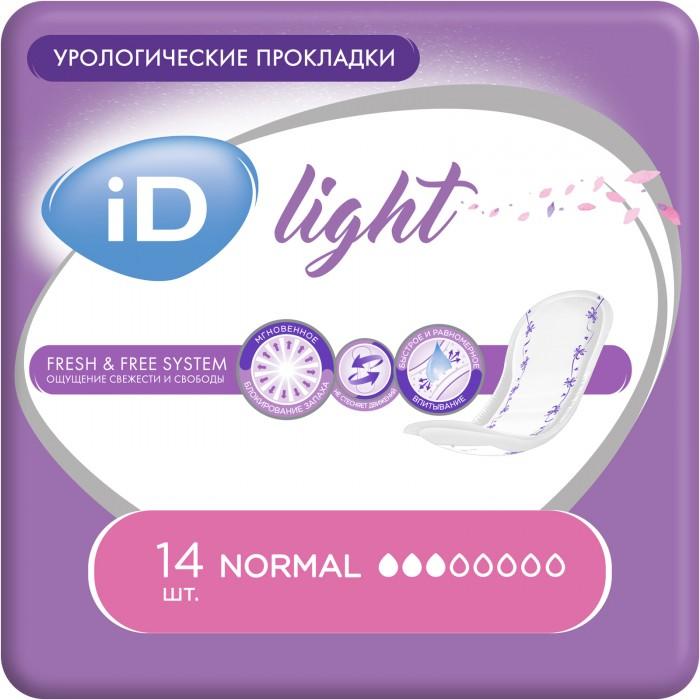 Гигиена для мамы iD Урологические прокладки Light Normal 14 шт. урологические трусы для женщин сени