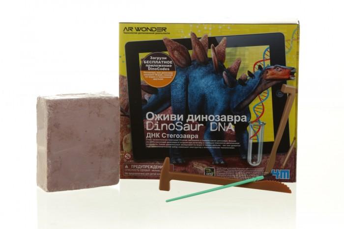 Творчество и хобби , Наборы для творчества 4М Оживи динозавра. ДНК Стегозавра арт: 289081 -  Наборы для творчества