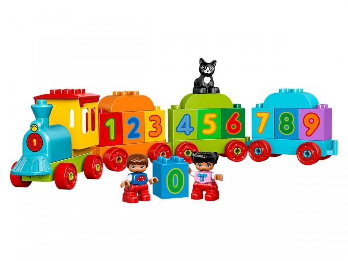 Lego Lego Duplo Поезд Считай и играй duplo 10558 считай и играй