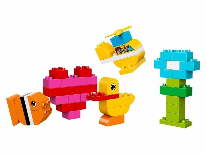 Lego Lego Duplo Мои первые кубики lego lego duplo 10586 фургон с мороженым