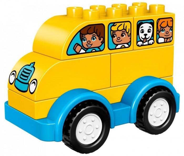 Lego Lego Duplo Мой первый автобус спот ★ импортированные голубой автобус автобус автобус автомобиль тайо игрушка тянуть обратно автомобиль корея продукты