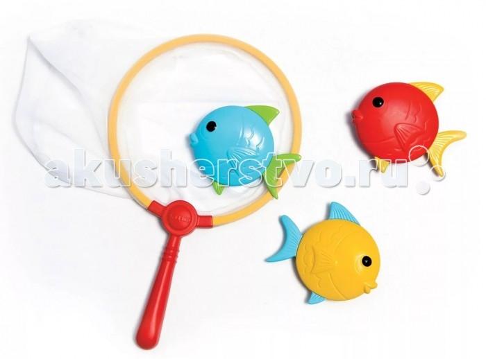 Игрушки для ванны Intex Сачок и рыбки игрушки для ванны tolo toys рыбки магнитные