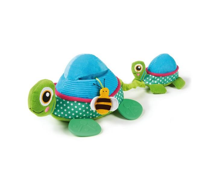 Развивающие игрушки Oops Черепаха мягкие игрушки oops игрушка павлин