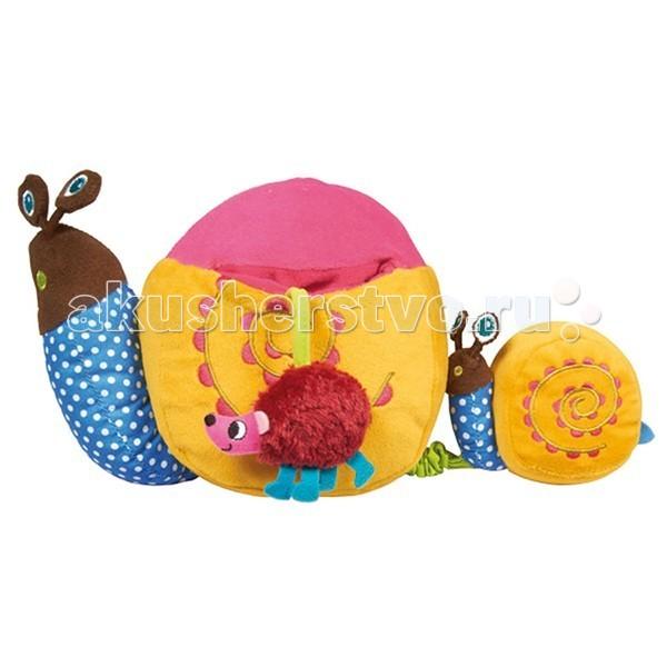 Развивающие игрушки Oops Улитка мягкие игрушки oops игрушка павлин