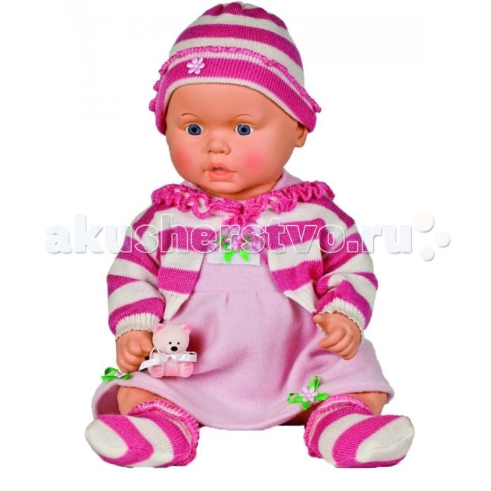 Весна Кукла Женечка 53 смКукла Женечка 53 смВесна Кукла Женечка 53 см выглядит, как настоящий младенец. Пухлые щечки, милые глазки, эту игрушку так и хочется взять на ручки, накормить и переодеть.  Весна Кукла Женечка 53 см изготовлена из высококачественного эластичного винила. Пупса легко укладывать в кроватку, усаживать за стол и переодевать. Игрушка не боится воды – Женечку можно купать или принимать совместные банные процедуры.   Весна Кукла Женечка 53 см одета в платье, ажурную шапочку, кофточку, пинетки.  Весна Кукла Женечка 53 см способствует раскрытию творческого потенциала, развитию воображения. Она станет лучшим другом девочки, с ее помощью легко придумать множество интересных ролевых игр.<br>