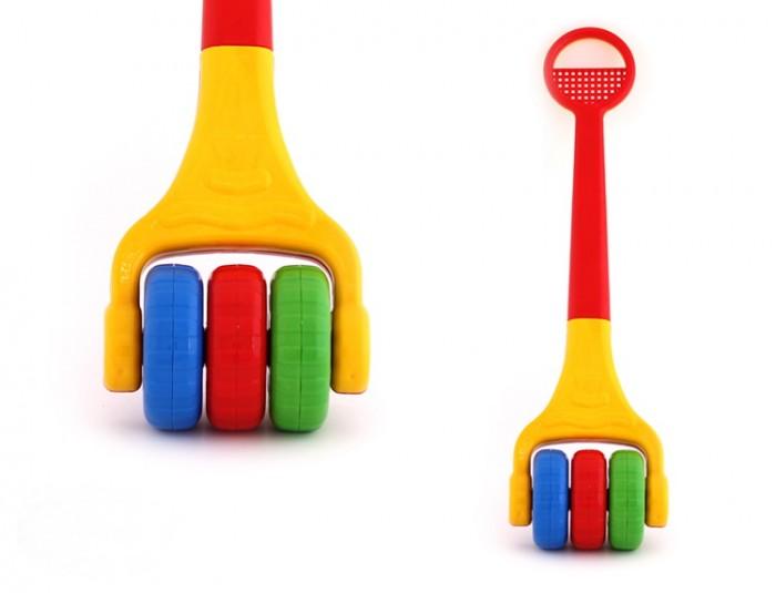 Каталки-игрушки POLtoys Погремушка 63 см poltoys каталка сортер лошадка