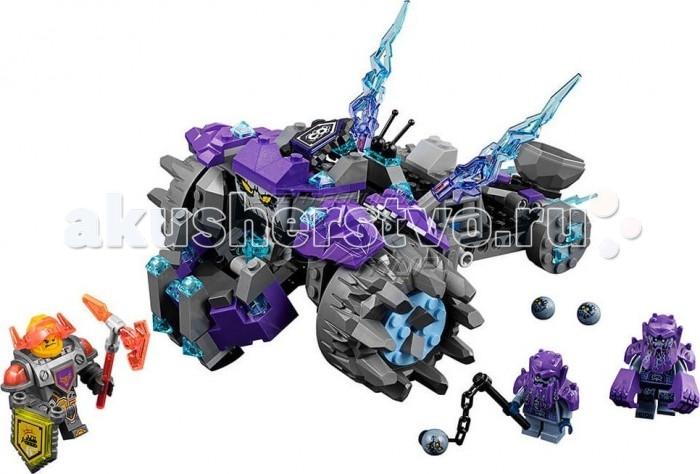 Конструктор Lego Nexo knights Три братаNexo knights Три братаLego Nexo knights Три брата в данном конструкторе собирается боевая машина, декорированная игрушечным льдом. У устрашающей машины огромные передние колеса, а также позади водительского сидения вы найдете функциональную катапульту.  В набор входят три фигурки, у которых движутся все части тела. Один из этих фигур знаменитый рыцарь – великан Ланс. Рыцарь выглядит грозным с рогатым шлемом, но на самом деле он очень добродушный, у которого замечательный аппетит и который любит играть на электрогитаре. У него есть дубинка с шипами, но все же в свободное время он занимается добычей еды и новых вкусных рецептов. Собирай боевую машину и окунайся в захватывающие битвы.  В наборе: 266 деталей.<br>