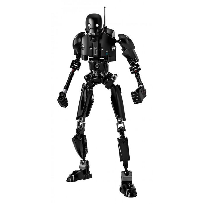 Конструктор Lego Star Wars K-2SOStar Wars K-2SOLego Star Wars K-2SO, который когда-то был дроидом имперской службы безопасности, сейчас готов воевать на стороне Союза Повстанцев. Построй дроида, поверни рычажок вбок, чтобы дроид мог вращать руками попеременно, или перемести рычажок вперед, чтобы он вращал сразу обеими руками!  У мощного дроида K-2SO достаточно сил и знаний для свержения Империи!<br>