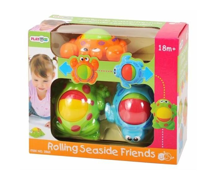 Развивающие игрушки Playgo Морские обитатели zhorya обучающая книга для детей на бат умный я морские обитатели с маркером 26x19x2см арт zye e0109