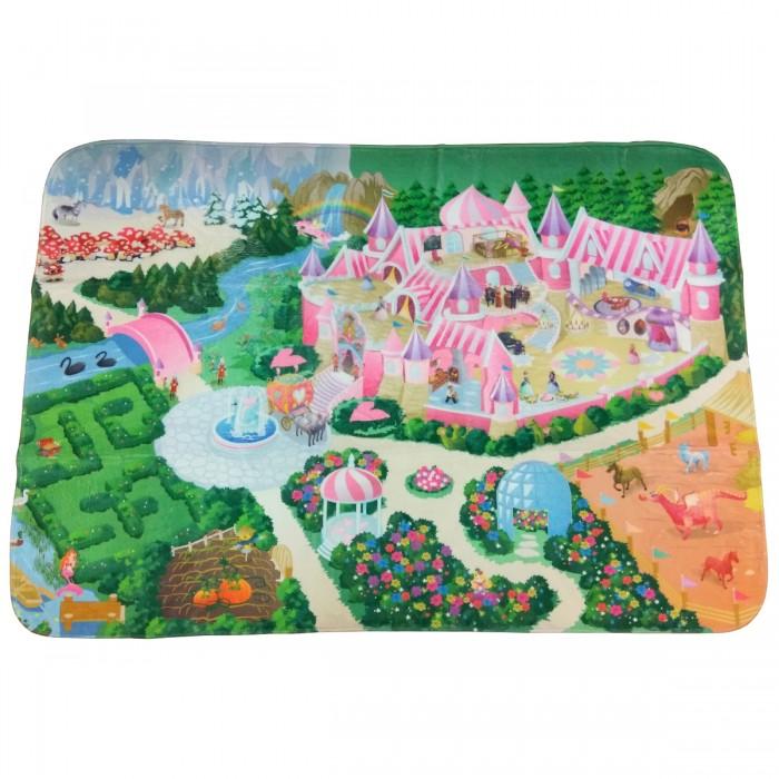 Игровой коврик Teplokid ЗамокЗамокИгровой коврик Teplokid Замок станет воплощением мечты любого ребенка.  Особенности: Ваша маленькая принцесса или подрастающий рыцарь станут владельцами настоящей усадьбы с парками, аллеями, собственной конюшней и цветущим садом.  Игровая поверхность коврика с мягким покрытием и отличной теплоизоляцией не только обеспечивает уютное место для игры, но и знакомит детей с особенностями ландшафтного устройства.  Большая площадь коврика с нанесенным рисунком позволяет прогуляться по дорожкам настоящего средневекового поместья, поселить игрушечную лошадку в огороженный загон или принимать гостей в саду у фонтана.<br>