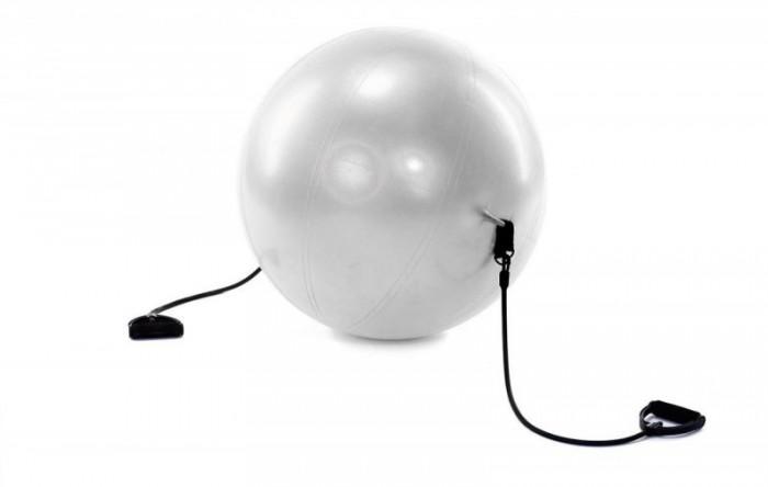 Купить Мячи, Bradex Мяч для фитнеса Фитбол-65 с эспандерами